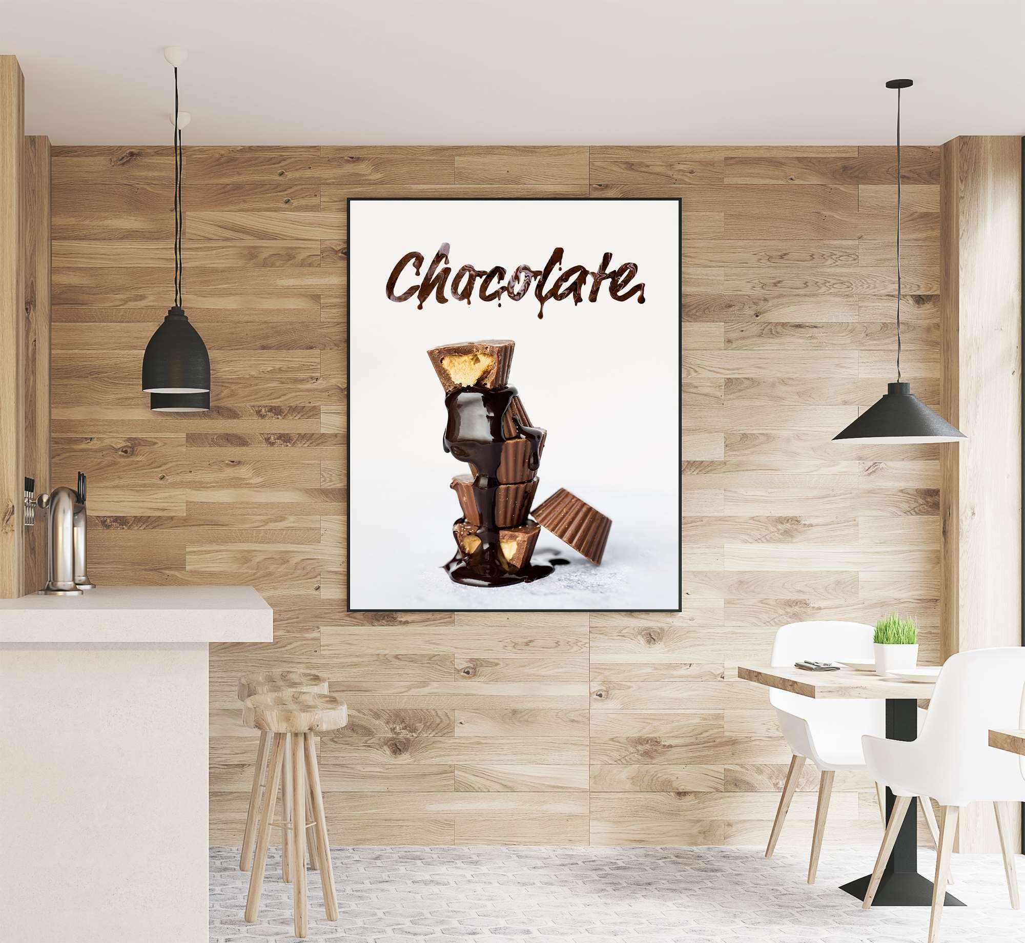 Das Leben ist wie eine Tafel Schokolade